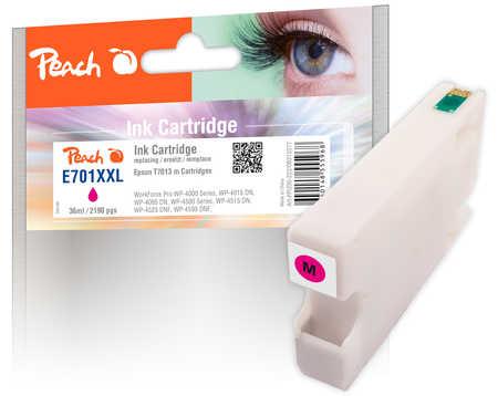 Peach  XL-Tintenpatrone magenta kompatibel zu Epson WorkForce Pro WP-4095 DN