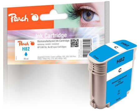Peach  Tintenpatrone cyan kompatibel zu HP DesignJet 500 E