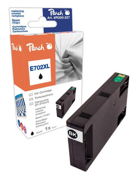 Peach  Tintenpatrone schwarz kompatibel zu Epson WorkForce Pro WP-4095 DN