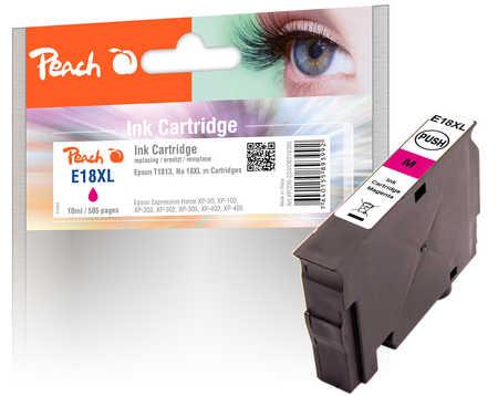 Peach  Tintenpatrone magenta kompatibel zu Epson Expression Home XP-302