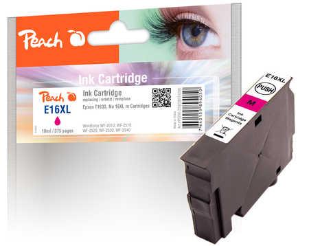 Peach  Tintenpatrone magenta kompatibel zu Epson WorkForce WF-2530 WF