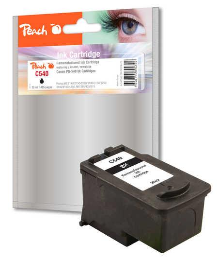 Peach  Druckkopf schwarz kompatibel zu Canon Pixma MG 2250