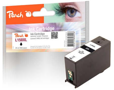 Peach  Tintenpatrone schwarz XL kompatibel zu Lexmark Interpret S 415