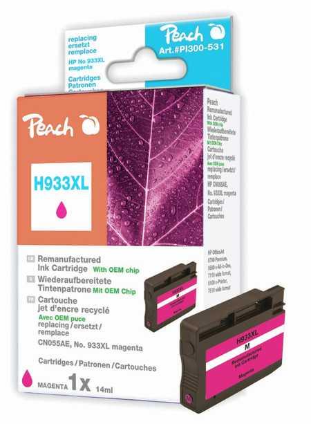 Peach  Tintenpatrone magenta HC kompatibel zu HP OfficeJet 6700 Premium