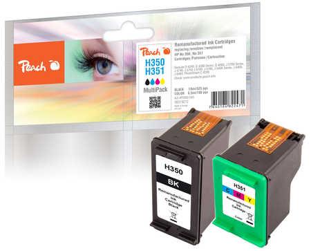 Peach  Spar Pack Druckköpfe kompatibel zu HP OfficeJet J 5780