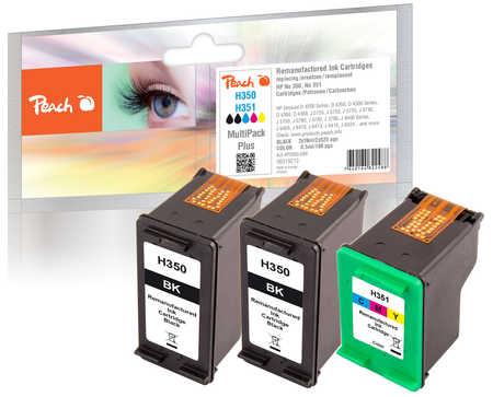 Peach  Spar Pack Plus Druckköpfe kompatibel zu HP OfficeJet J 5780