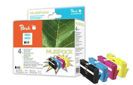 Peach  Spar Pack Tintenpatronen kompatibel zu HP OfficeJet Pro 6230