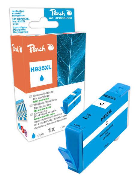 Peach  Tintenpatrone cyan HC kompatibel zu HP OfficeJet Pro 6230