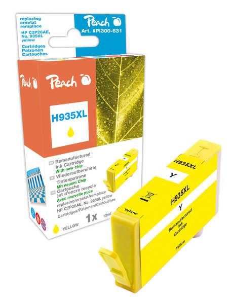 Peach  Tintenpatrone gelb HC kompatibel zu HP OfficeJet Pro 6230