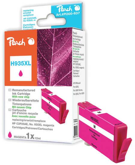 Peach  Tintenpatrone magenta HC kompatibel zu HP OfficeJet Pro 6230