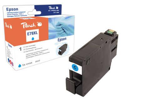 Peach  Tintenpatrone HY cyan kompatibel zu Epson WorkForce Pro WF-5110 DW