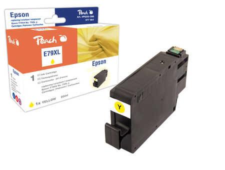 Peach  Tintenpatrone HY gelb kompatibel zu Epson WorkForce Pro WF-5110 DW