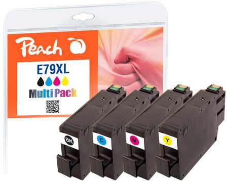Peach  Spar Pack Tintenpatronen HY kompatibel zu Epson WorkForce Pro WF-5110 DW