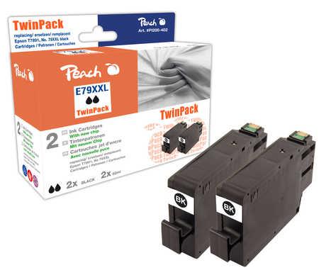 Peach  Spar Pack Plus Tintenpatronen HY kompatibel zu Epson WorkForce Pro WF-5110 DW
