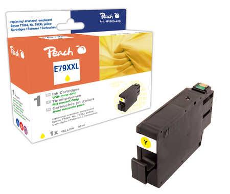 Peach  Tintenpatrone XXL gelb kompatibel zu Epson WorkForce Pro WF-5110 DW