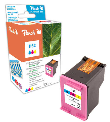 Peach  Druckkopf color kompatibel zu HP Envy 5661 e-All-in-One