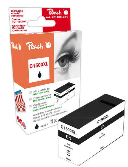 Peach  XL-Tintenpatrone schwarz kompatibel zu Canon Maxify MB 2350