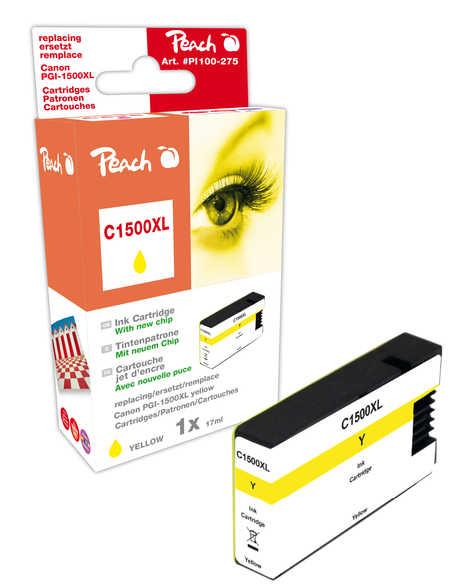 Peach  XL-Tintenpatrone gelb kompatibel zu Canon Maxify MB 2350