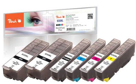 Peach  Spar Pack Plus Tintenpatronen XL kompatibel zu Epson Expression Premium XP-830