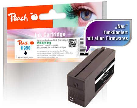 Peach  Tintenpatrone schwarz kompatibel zu HP OfficeJet Pro 251 dw