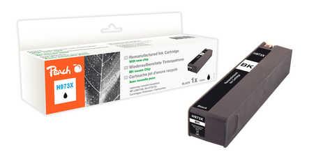Peach  Tintenpatrone schwarz HC kompatibel zu HP PageWide Pro 450 Series