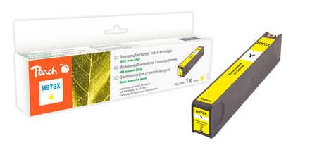 Peach  Tintenpatrone gelb HC kompatibel zu HP PageWide Pro 450 Series