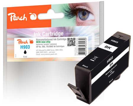 Peach  Tintenpatrone schwarz kompatibel zu HP OfficeJet Pro 6975