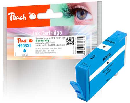 Peach  Tintenpatrone cyan HC kompatibel zu HP OfficeJet Pro 6975