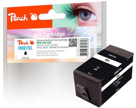 Peach  Tintenpatrone schwarz HC kompatibel zu HP OfficeJet Pro 6975